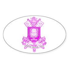 Liberal Catholic Church Logo Oval Decal