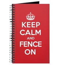 Keep Calm Fence Journal