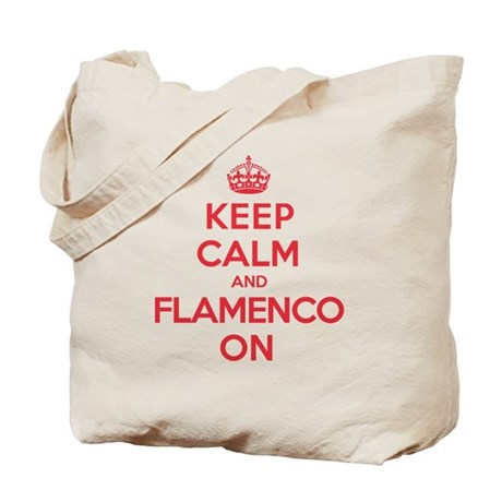 Keep Calm Flamenco Tote Bag