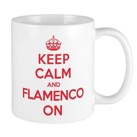 Keep Calm Flamenco Mug