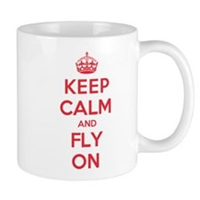 Keep Calm Fly Mug