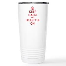 Keep Calm Freestyle Travel Mug
