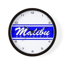 Cool California malibu Wall Clock