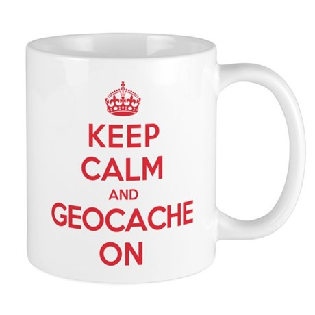 Keep Calm Geocache Mug