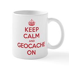 Keep Calm Geocache Small Mugs