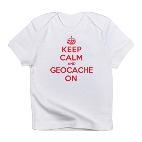 Keep Calm Geocache Infant T-Shirt