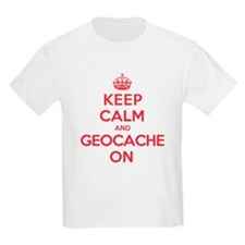Keep Calm Geocache T-Shirt