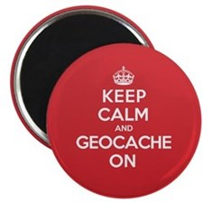 Keep Calm Geocache Magnet