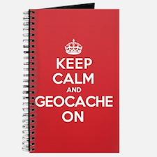 Keep Calm Geocache Journal