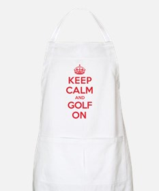 Keep Calm Golf Apron