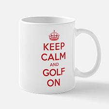 Keep Calm Golf Mug