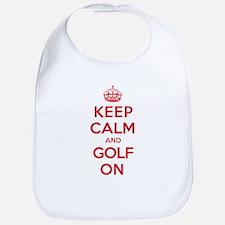 Keep Calm Golf Bib