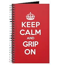 Keep Calm Grip Journal