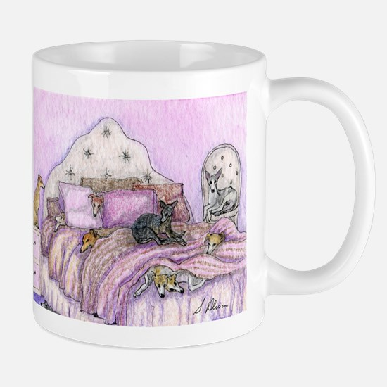 Sighthounds slumber party Mug