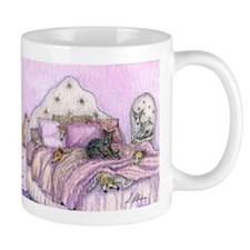 Sighthounds slumber party Small Mugs