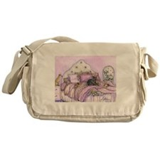 Sighthounds slumber party Messenger Bag