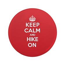 """Keep Calm Hike 3.5"""" Button (100 pack)"""