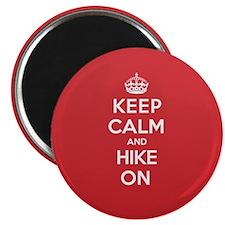 Keep Calm Hike Magnet