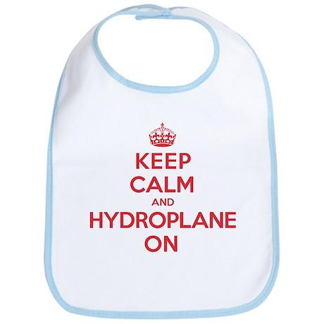 Keep Calm Hydroplane Bib