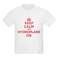 Keep Calm Hydroplane T-Shirt