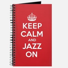 Keep Calm Jazz Journal