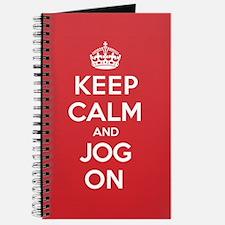 Keep Calm Jog Journal
