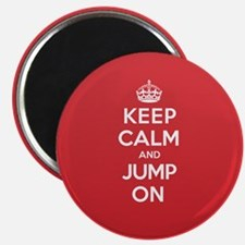 Keep Calm Jump Magnet