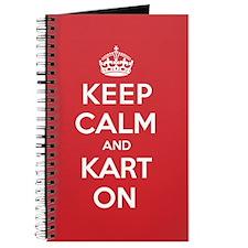 Keep Calm Kart Journal