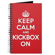 Keep Calm Kickbox Journal