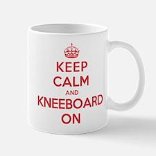 Keep Calm Kneeboard Mug