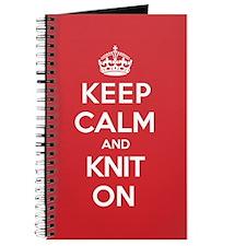 Keep Calm Knit Journal