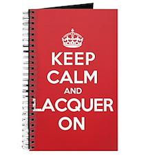 Keep Calm Lacquer Journal