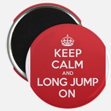 Keep Calm Long Jump Magnet