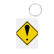 Exclamation Point Keychains