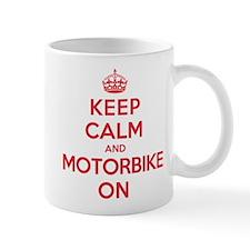 Keep Calm Motorbike Mug