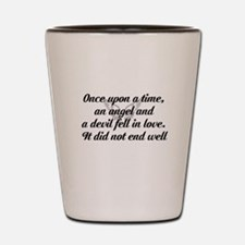 once upon a time4 Shot Glass