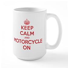 Keep Calm Motorcycle Mug