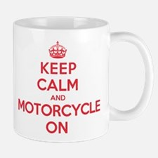 Keep Calm Motorcycle Mug