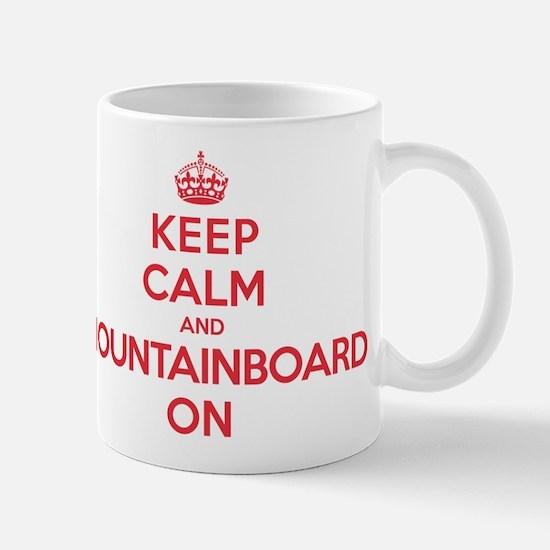 Keep Calm Mountainboard Mug