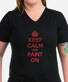 Keep Calm Paint Shirt