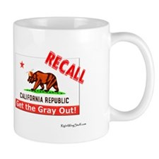 Recall Gray Davis Now! Mug