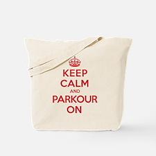 Keep Calm Parkour Tote Bag