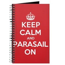 Keep Calm Parasail Journal