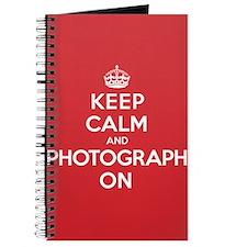 Keep Calm Photograph Journal