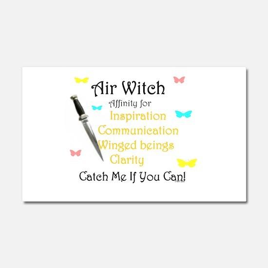 Air Witch.jpg Car Magnet 20 x 12