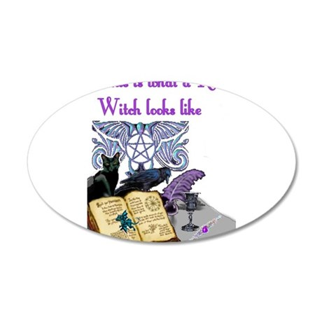Witches Pride 4.jpg 35x21 Oval Wall Decal