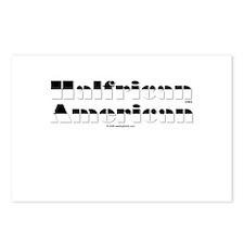 Half White/Half Black Postcards (Package of 8)