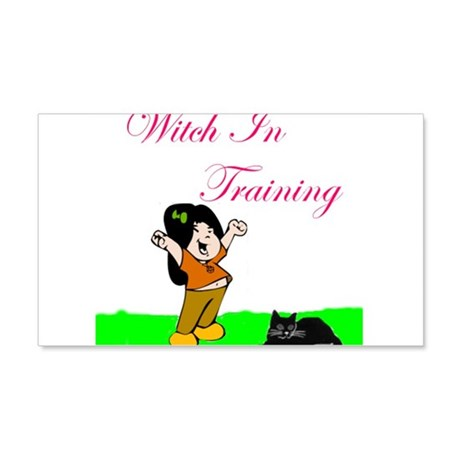 witch in training 4.jpg 20x12 Wall Decal