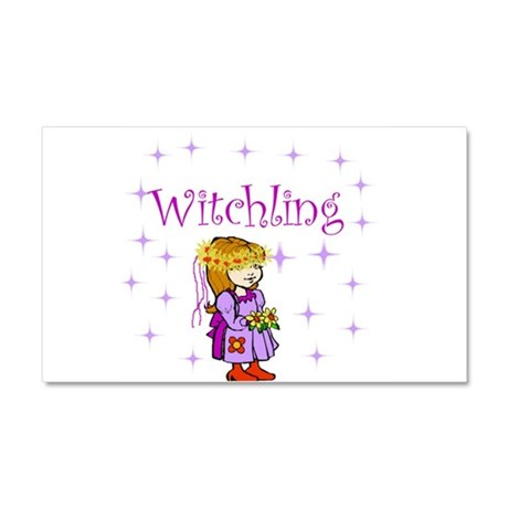 Witchling.jpg Car Magnet 20 x 12