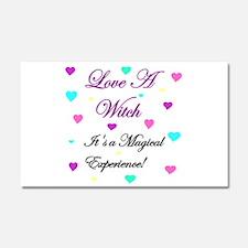 Love a Witch II.jpg Car Magnet 20 x 12